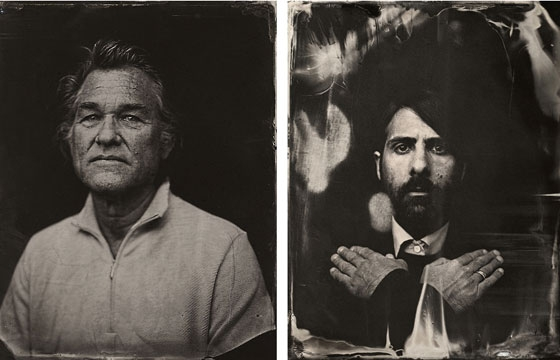 Celebrity Tintypes by Victoria Will