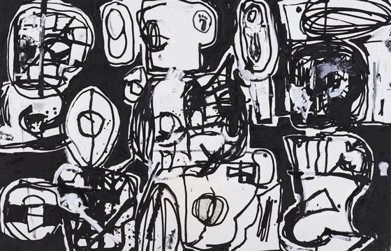 Eddie Martinez Opens Latest Exhibition @ Perrotin, Hong Kong
