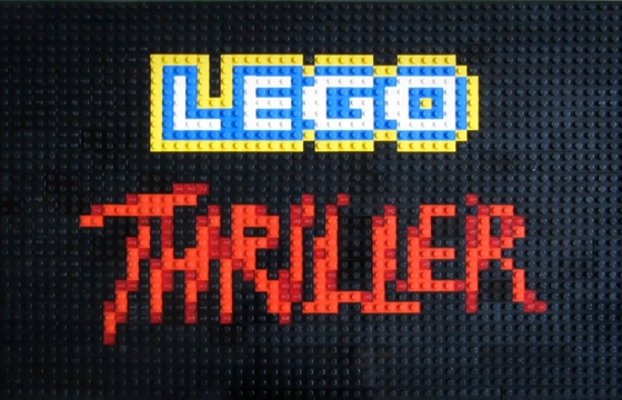LEGO Thriller Animation by Annette Jung