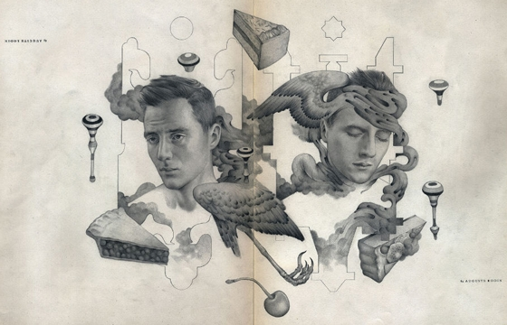 The Illustrations and Designs of Mario Hugo
