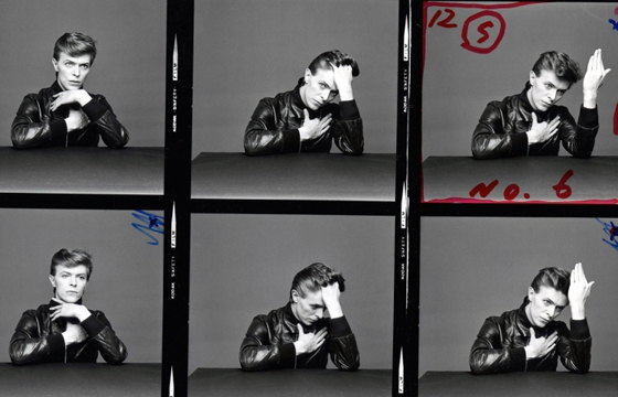 "Outtakes From David Bowie's ""Heroes"" Cover Shoot"