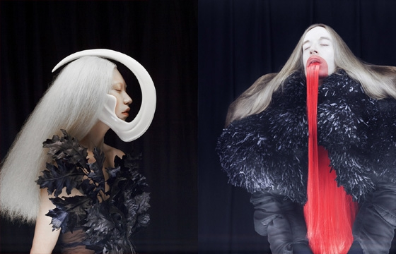 """Dream Sequence,"" Fashion Photography by Madame Peripetie"