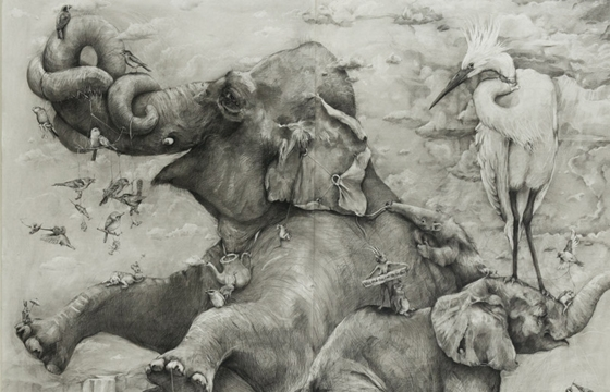 Amazing Pencil Works by Adonna Khare