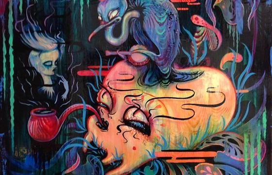 "Camille Rose Garcia ""La Danse Macabre"" @ Roq La Rue, Seattle"