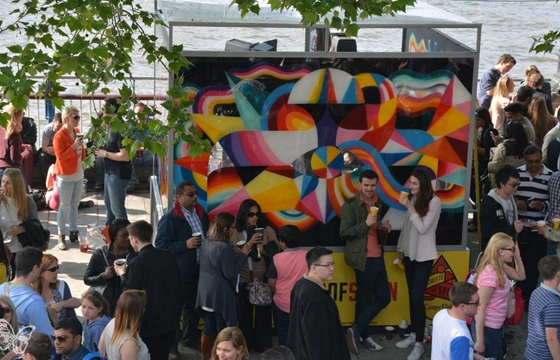 Remed & Okuda @ Festival of Spain, London