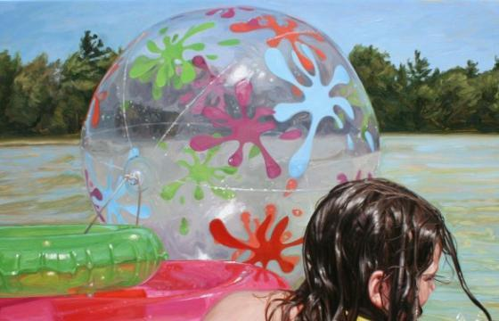 Memories of Summer: Photoreal Paintings by Laura Sanders