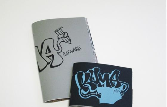 Carnage #3 and Kuma mini zine
