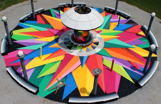 """Metamorphosys of a Star"" by Okuda"