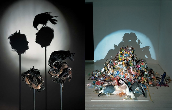 Shadow Sculptures by Tim Noble & Sue Webster