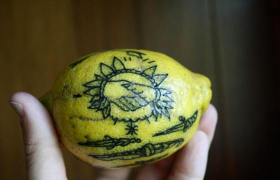Ryan Jacob Smith's Tattooed Fruit