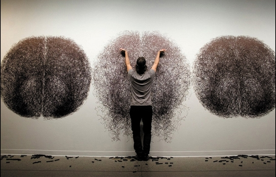 Tony Orrico's Penwald Drawings