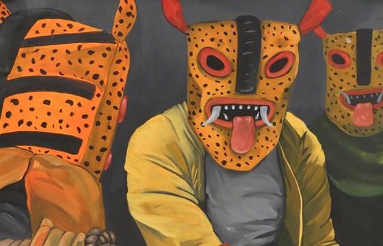 "Saner ""Primitivo"" @ Jonathan Levine Gallery, NYC"