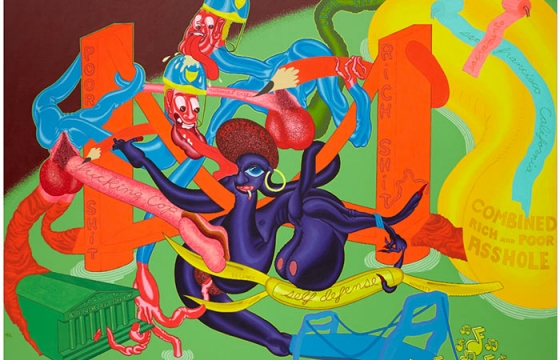 "Peter Saul ""From Pop to Punk"" @ Venus Over Manhattan, NYC"