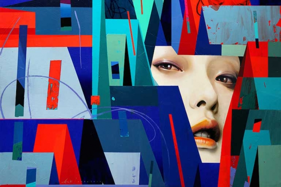 "Erik Jones ""Motion"" @ Hashimoto Contemporary, SF"