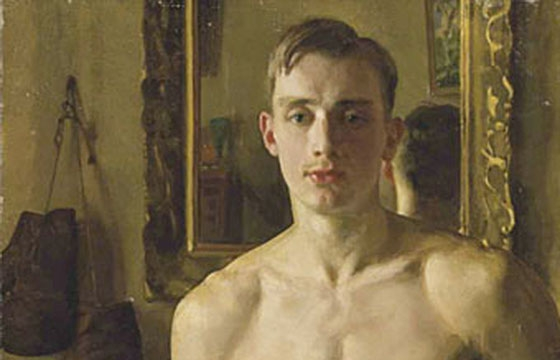 Konstantin Somov's Voyeuristic Paintings