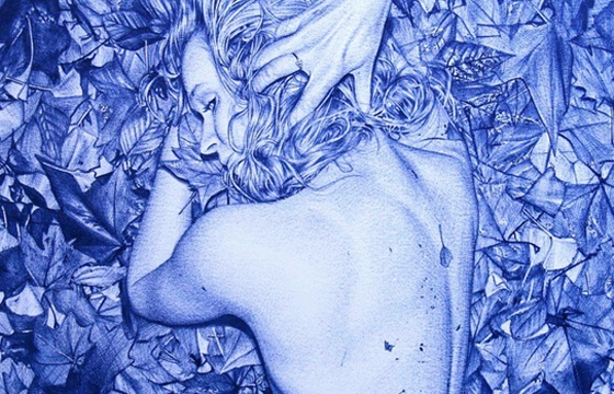 An Update with the Hyperreal, Hypersexual Bic Drawings of Juan Francisco Casas (NSFW)
