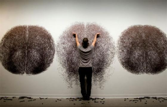 Performance Drawings by Tony Orrico