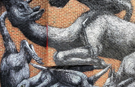 New Roa mural in London, UK