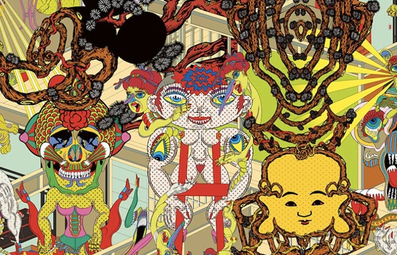 The Psychedelic Works of Keiichi Tanaami