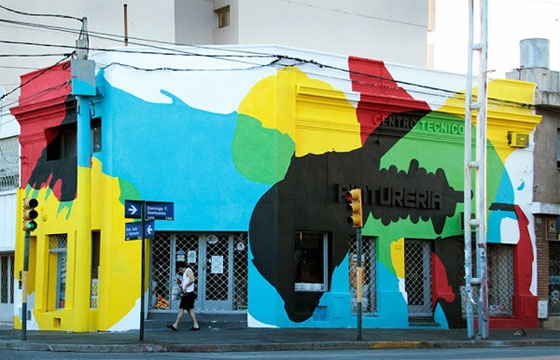 """Saturated Corner"" by Elian in Argentina"