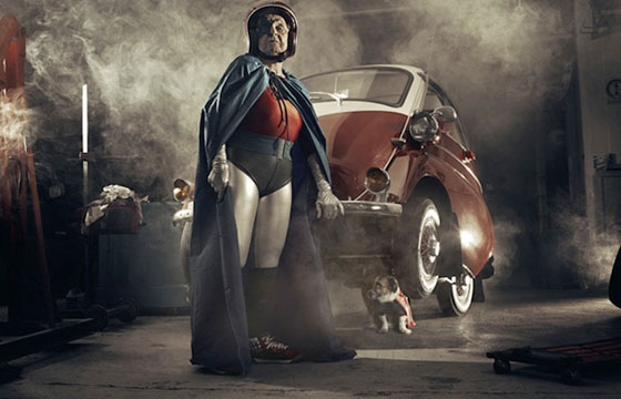 Sacha Goldberger's Superhero Grandma