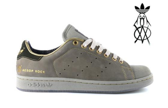 Aesop Rock adidas Originals sneaker from Upper Playground
