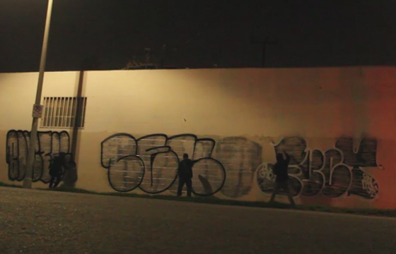 Video: Bombing LA with Ceno