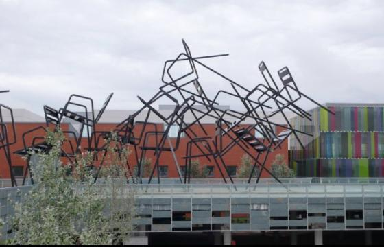 Sculptural Musical Chairs by Estudion Mariscal