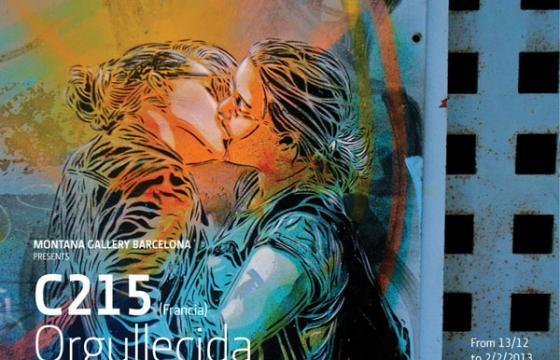 "C215's ""Orgullecida"" in Barcelona"