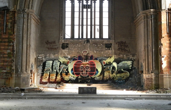 Nychos in the Catherdral