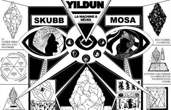 video and photos: Skubb x Mosa @ Galerie Association d'Idées