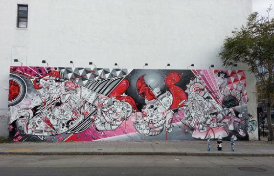 HOW NOSM Paint at Bowery & Houston