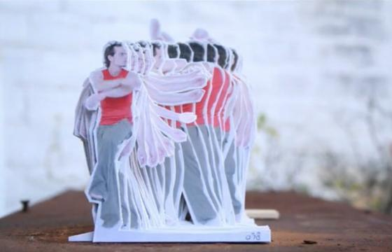 Stop Motion: The Modern Dance by Rogier Wieland