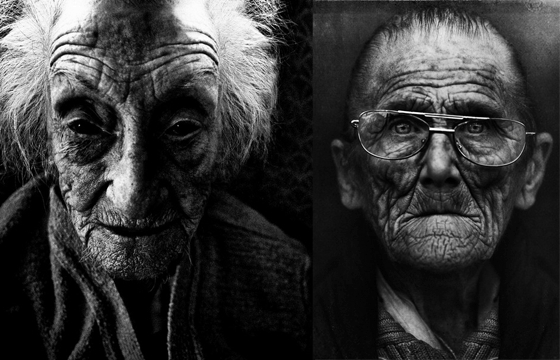 Striking portraits of homeless women and men by Lee Jeffries