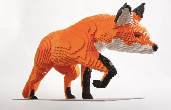 "LEGO ZOO: Sean Kenney's traveling ""Nature Connects"""