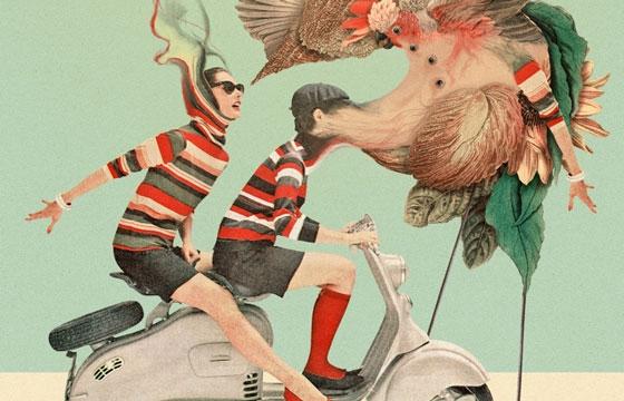 Illustrations of Berlin-based Pierre Schmidt, a.k.a. Drømsjel