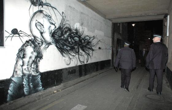Upper Playground Takes Over London with Saber and David Choe