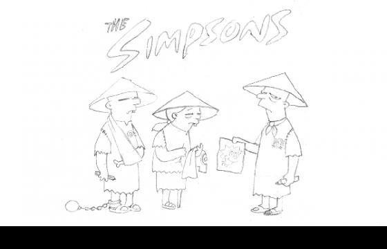 Banksy Releases The Simpsons Intro Storyboards