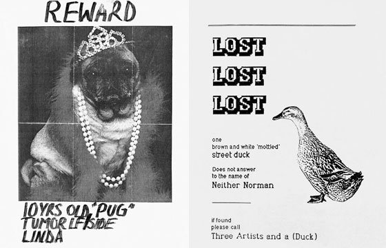 Lost and Found Pet Posters From Around the World