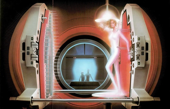 The Sci-Fi Illustrations of Shusei Nagaoka