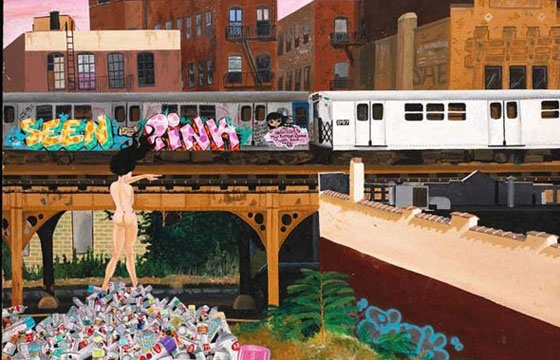 City as Canvas: Graffiti Art from the Martin Wong Collection