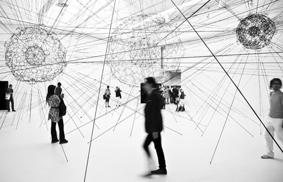 "Tomás Saraceno's ""14 Billion"" Installation"