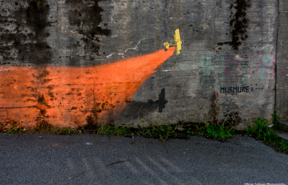 Nuart Invites Illustrator Duo, Murmure, to Their First Ever Street Art Festival