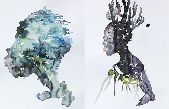 Shen Yuan's Watercolors
