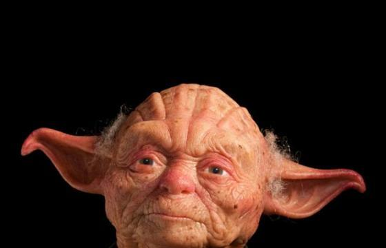 The Humanesque Yoda sculpture