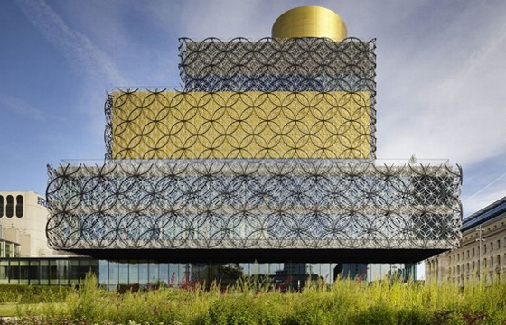 Birmingham, England Gets a Beautiful New Library
