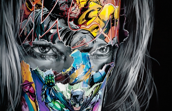 Cages And The Void Of Colors: Sandra Chevrier's Showstopping Comic Book Inspired Works @ Hashimoto Contemporary, NYC