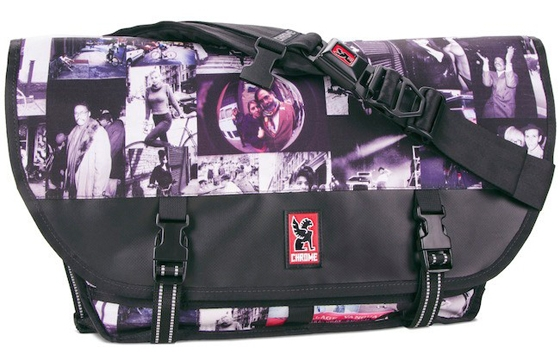Ricky Powell's Chrome Photobomb Messenger Bag