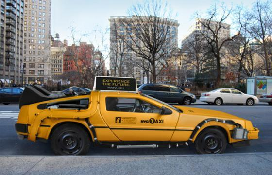 The Delorean Taxi