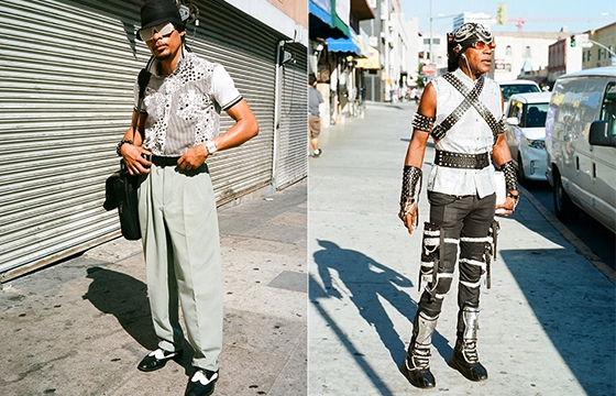 L.A.'s Skid Row fashion shoot by Géraldine Freyeisen